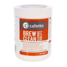 Cafetto Brew Clean Tablets Чистящее средство для фильтр-кофемашин в таблетках 100 шт, фото