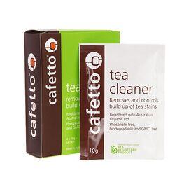 Cafetto Tea Cleaner Чистящее средство от чайного налета 4 уп. по 10 г, фото