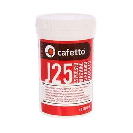 Cafetto J25 Tablets Чистящее средство для эспрессо-машин в таблетках 40 шт, фото