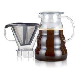 Bodum 11762-10-01S Пуровер Melior с постоянным фильтром и кофейником 1 л черный, фото