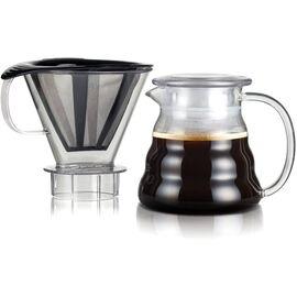 Bodum 11767-10-01S Пуровер Melior с постоянным фильтром и кофейником 0.6 л черный, фото