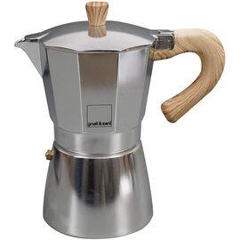 Gnali&Zani Venezia Гейзерная кофеварка на 9 чашек алюминий, фото