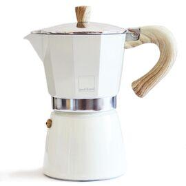 Gnali&Zani Venezia Гейзерная кофеварка на 9 чашек кремовая, фото