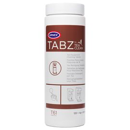 Urnex TABZ T61 Tea Clean Чистящее средство от чайного налета 120 таблеток по 4 г, фото