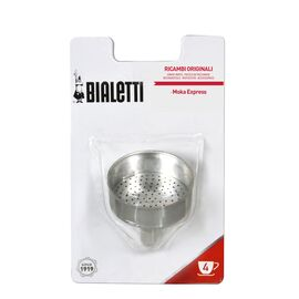 Bialetti Фильтр-воронка для гейзерных кофеварок Moka Express на 4 чашки, фото