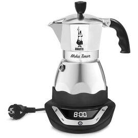 Bialetti 6092 Moka Timer на 3 чашки Гейзерная кофеварка, фото