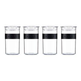Bodum Presso Набор банок для хранения 0.25 л 4 шт черные, фото