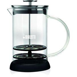 Bialetti Milk Frother ручной вспениватель молока на 6 чашек стекло, фото