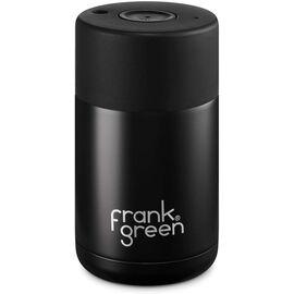 Frank Green Ceramic reusable cup Термокружка 295 мл чёрная, фото