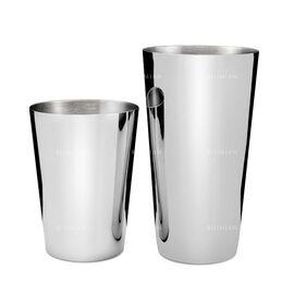 Lumian Yokai Boston Tin & Half Tin Шейкер 530/830 мл серебро, фото