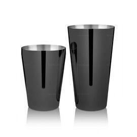 Lumian Yokai Boston Tin & Half Tin Шейкер 530/830 мл черный, фото