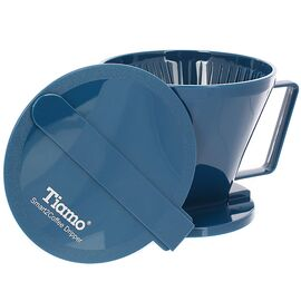 Tiamo HG5569B Smart2Coffee Иммерсионный пуровер синий, фото