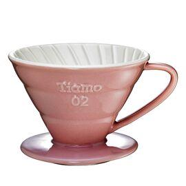 Tiamo HG5544PK Керамический пуровер V02 розовый, фото