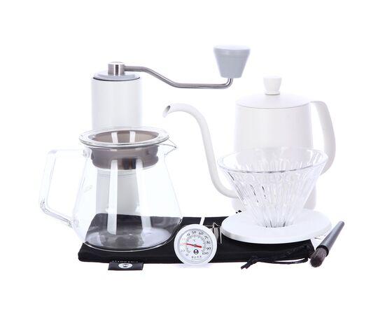 Timemore C2 Pour Over Set (Fish 03) набор для заваривания кофе белый, фото