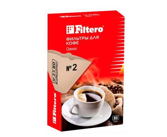 Filtero №2 Фильтры для кофе 80 шт, фото